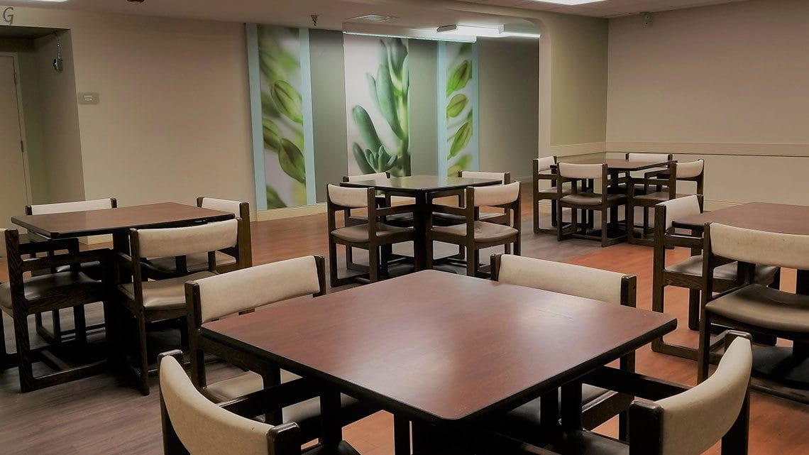 Windmoor Healthcare's Dining Room