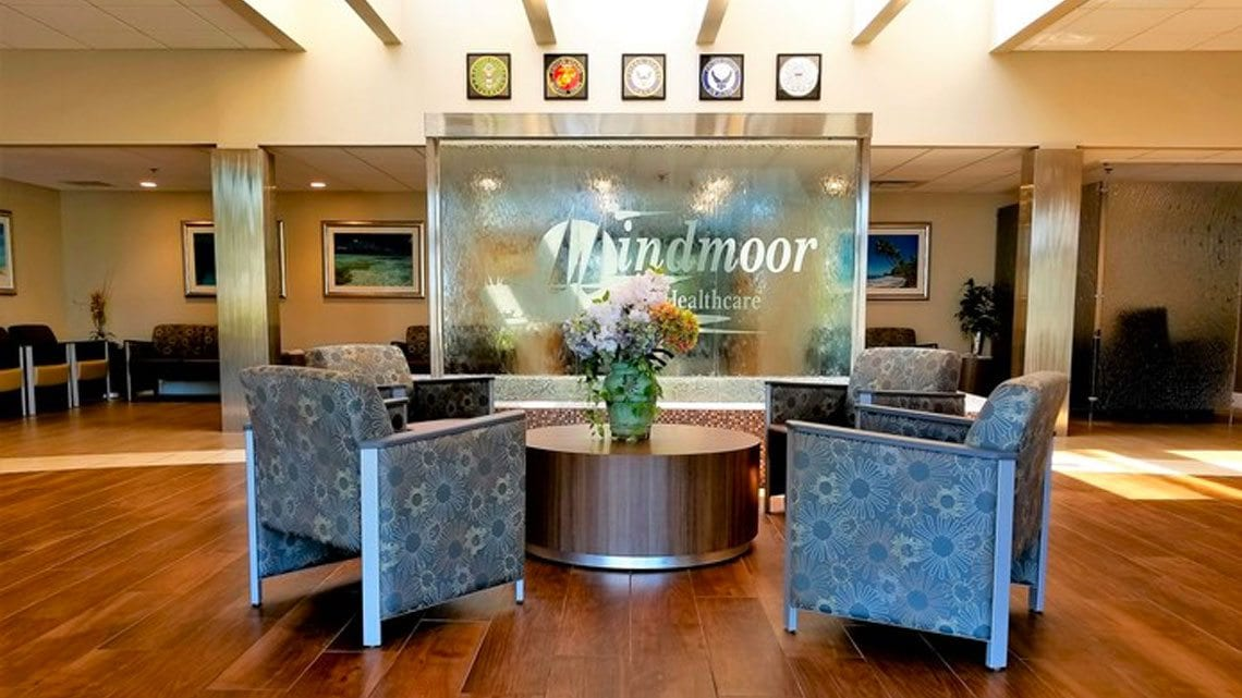 Windmoor Healthcare's Lobby